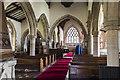 SK8613 : Interior, St Mary's church, Ashwell by Julian P Guffogg