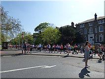 TQ4077 : London Marathon - way to go by Stephen Craven