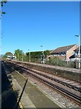 TQ6304 : Railway at Pevensey and Westham Station by PAUL FARMER