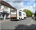 ST2688 : Nisa lorry outside McColl's convenience store, Rogerstone by Jaggery