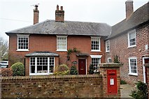 TR2257 : Old Post Office House, Ickham by N Chadwick