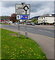 ST2489 : Direction signs in Pontymister by Jaggery