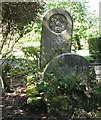 TG2108 : The grave of Ann and Samuel Spinks by Evelyn Simak