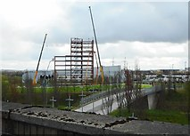 NS5566 : New structure under construction by Richard Sutcliffe