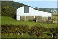 J4692 : Large Barn near the Larne Road by David Dixon