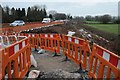 SO8541 : Roadworks on the A4104 at Upton-upon-Severn by Philip Halling