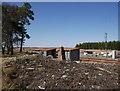 NC8942 : Old railside huts, Forsinard by Craig Wallace