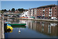 SX9292 : The Quay and the River Exe by Peter Jeffery