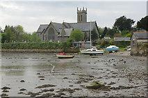 SX4563 : Bere Ferrers Church by Stephen McKay