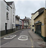 SM9537 : West Street, Fishguard by Jaggery