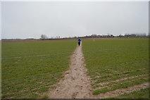TR2257 : Footpath crossing field by N Chadwick