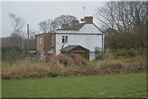 TR2256 : House on A257 by N Chadwick