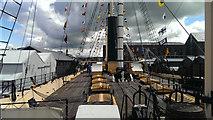 ST5772 : Deck view, SS Great Britain, Great Western Dockyard, Bristol by Brian Robert Marshall