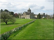 SE7170 : Castle Howard - View from the East by G Laird