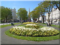 TQ2904 : Flowerbeds - Palmeira Square May 2018 by Paul Gillett