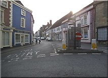 ST6834 : High Street, Bruton by David Howard