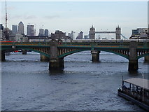 TQ3280 : Southwark Bridge by Rudi Winter