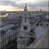 TQ3181 : Southwest tower, St Paul's Cathedral by Rudi Winter