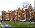 SJ8495 : St Mary's Hospital, Oxford Road by Gerald England
