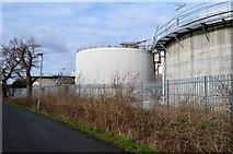 TQ1968 : Hogsmill Sewage Works by N Chadwick