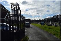 TQ1968 : Surbiton Cemetery by N Chadwick