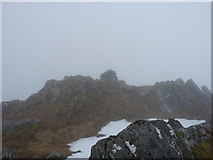 NM8998 : Summit cairn - Ben Aden by Richard Law