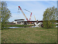 TL5478 : Ely Southern Bypass: bridging the Great Ouse by John Sutton