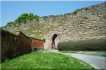 SO5074 : Ludlow Town Walls by Fabian Musto