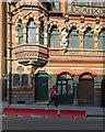 SK5740 : Watson Fothergill's Offices: the restored oriel window by John Sutton