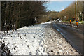 SX8865 : Snow, Marldon Road by Derek Harper