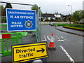 H4572 : Unauthorised entry notice, Omagh by Kenneth  Allen