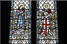 SO3958 : Pembridge, St. Mary the Virgin Church: Detail of window in memory Susan, wife of Thomas Gornall 2 by Michael Garlick