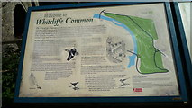 SO5074 : Sign at Whitcliffe Common (Ludlow) by Fabian Musto
