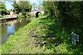 SJ8317 : Shropshire Union Canal milepost near Turnover Bridge No 26 by Mat Fascione