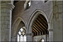 SO3958 : Pembridge, St. Mary the Virgin Church: North aisle and transept beyond by Michael Garlick