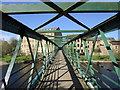 NZ0415 : Footbridge over the River Tees by Jonathan Thacker