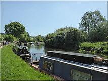 TQ1579 : Grand Union Canal by PAUL FARMER