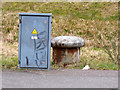 NS5068 : Old bollard on Ferry Road by Thomas Nugent