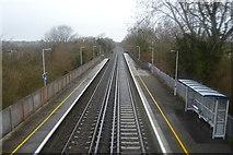 TR2354 : Chatham Main Line, Adisham Station by N Chadwick