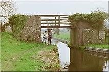 SJ2618 : Pont-y-Person Bridge, 1988 by Mark Anderson