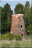 TF0684 : Disused Mill at Faldingworth by Ian S