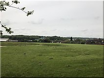 SJ8545 : Playing fields by Jonathan Hutchins
