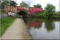 SJ8297 : Bridge over the Bridgewater Canal by Philip Jeffrey