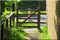 SX9265 : Gateway onto St. Marychurch Road by John C