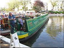 TQ2681 : The Rosery, narrowboat, Little Venice Canalway Cavalcade by David Hawgood