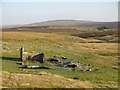 NY7534 : Ruin by the River Tees by Mike Quinn