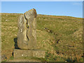 NY7535 : Sculpture at the source of the River South Tyne by Mike Quinn