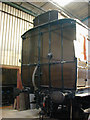 SU5291 : Didcot Railway Centre: end of Dean clerestory coach by Nigel Brown