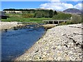 NR8836 : Iorsa Water and Bridge, Dougarie, Arran by G Laird