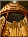 SJ6902 : Inside a bottle kiln at Clayport China Museum by Graham Hogg